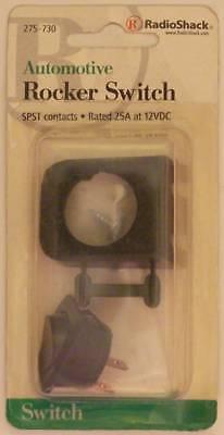 RadioShack 275-702 Dual SPST Automotive Toggle Switch Assembly ~ 20A at 12VDC
