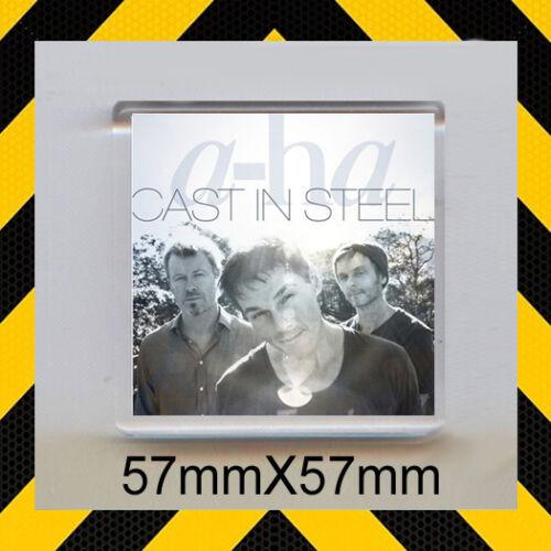 57X57mm FRIDGE MAGNET Cast In Steel CD COVER a-ha