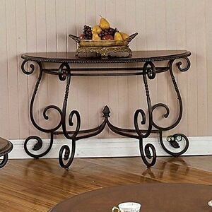 Image Is Loading Steve Silver CR150S Crowley Sofa Table 48 034