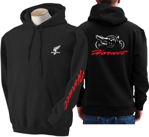 Felpa per moto Honda HORNET old hoodie sweatshirt bike hoody Hooded sweater