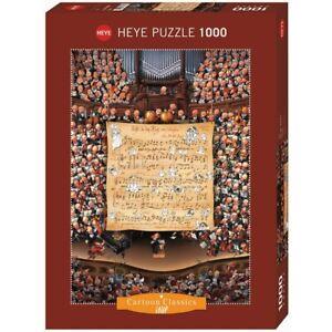 JEAN-JAQUES LOUP - SCORE - Heye Puzzle 29564 - 1000 Teile Pcs.