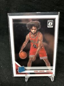 2019-20-Panini-Donruss-Optic-Rated-Rookie-Coby-White-RC-180-Chicago-Bulls-Q90