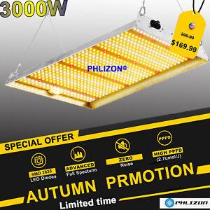 PHLIZON PH-R45 3000 LED Grow Lights Indoor Plants Full Spectrum Replace HPS HID