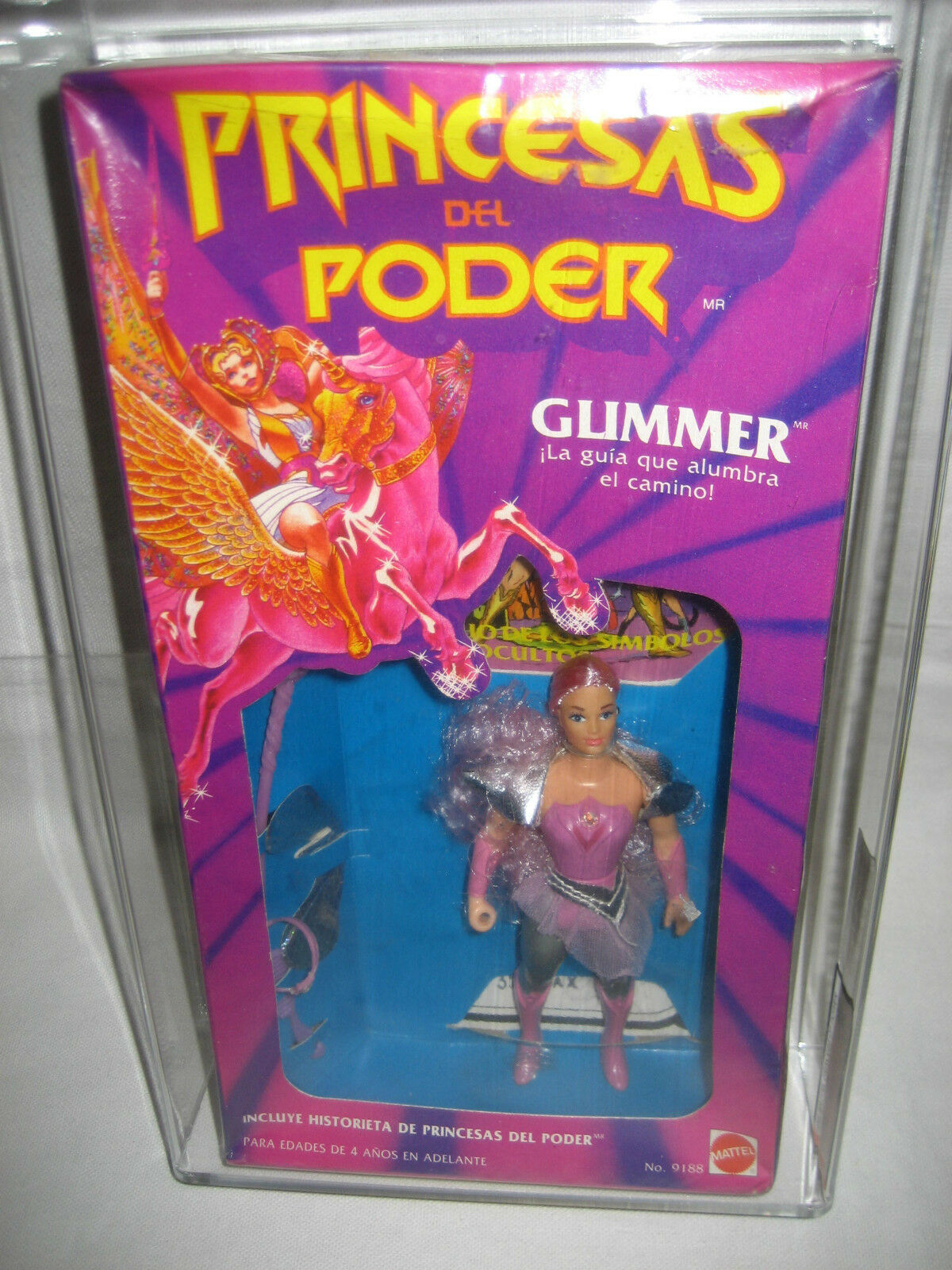 AFA 80 Mattel GLIMMER Princess of Power Mexico MIB PRINCESAS DEL PODER Los Amos