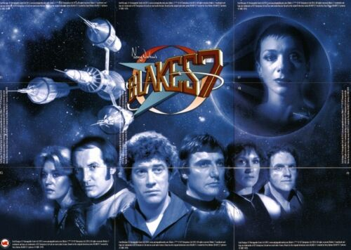 Blakes 7 Series 1 Full 9 Card Foil Puzzle Chase Set Unstoppable Cards