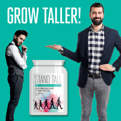 Stand Tall Growth Pills Increase Height 3 5 Inches Height Enhancer Tablet Ebay