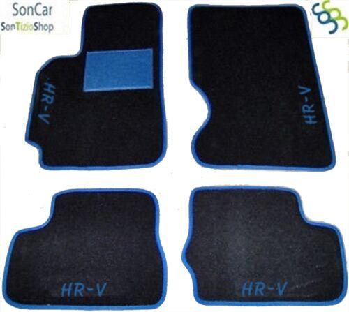 HONDA HR-V HRV TAPPETI AUTO SU MISURA 4decori+4 block