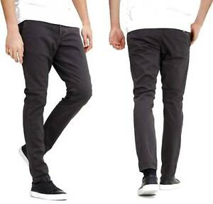 outlet store high fashion 50% off Details about Mens Jack & Jones Chinos Slim Fit Marco Straight Leg Pants  Trousers in Dark Grey