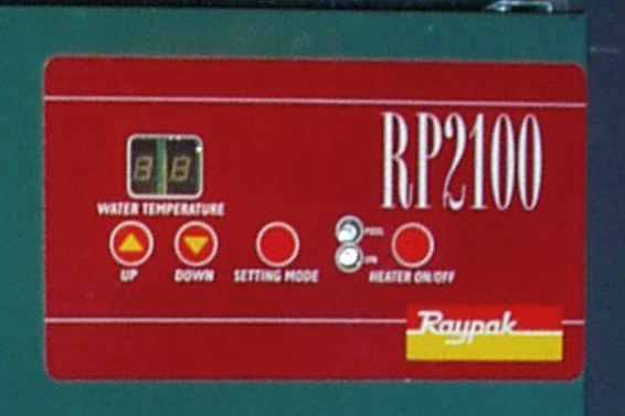 Raypak Gas Pool and Spa Heater Spare Parts