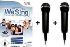 Nintendo Wii We Sing und 2 Mikro fone DEUTSCH BRANDNEU