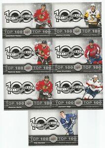 17-18-Tim-Hortons-Top-100-Complete-Set-1-7-Crosby-Kane-Toews-Jagr