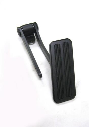 Black Throttle Cable /& Bracket Kit Brake Clutch Pad Black Aluminum Gas Pedal