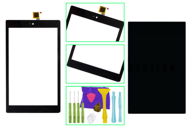 US Fix Amazon Touch Screen Digitizer LCD Tools Kindle Fire HD 8 7th Gen  Sx034qt