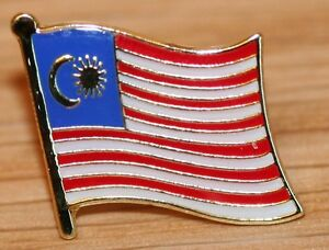 Image Is Loading MALAYSIA Country Metal Flag Lapel Pin Badge