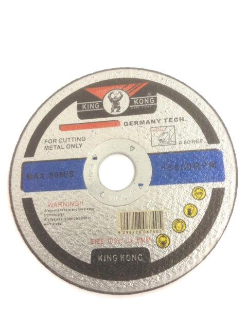 "25pcs 100mm 4"" inch Metal Cutting Discs Wheel 100x1x16mm Angle Grinder Metal Dis"