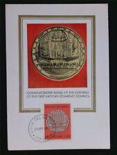 Vatican MK 1970 MEDAGLIA PIO IX maximum carta carte MAXIMUM CARD MC cm c6378