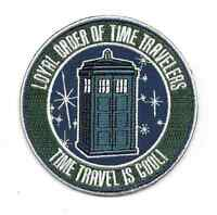 Doctor Who Tv Series Loyal Order Of Time Travelers Logo 3.5 Embroidered Patch