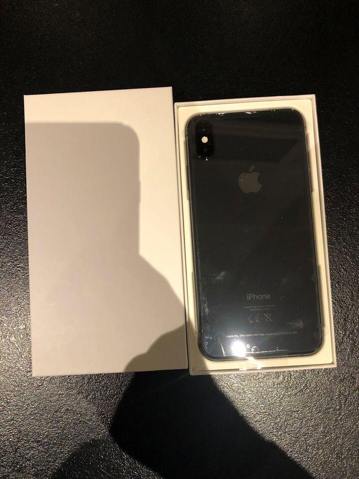 iPhone XS Max, 64 GB, sort