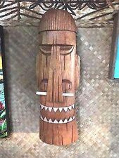New Bone Nose Happy Cannibal Tiki Mask Smokin' Tikis Hawaii 1211f