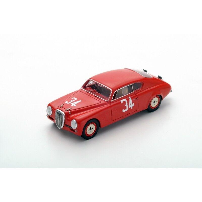 Spark 43TF52 - LANCIA B20 N 34 Vainqueur Targa Florio 1952- F.Bonetto 1/43