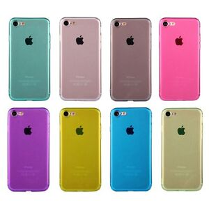 Carcasa-blanda-Funda-para-movil-de-cubierta-del-TPU-proteccion-iPhone-Apple-7