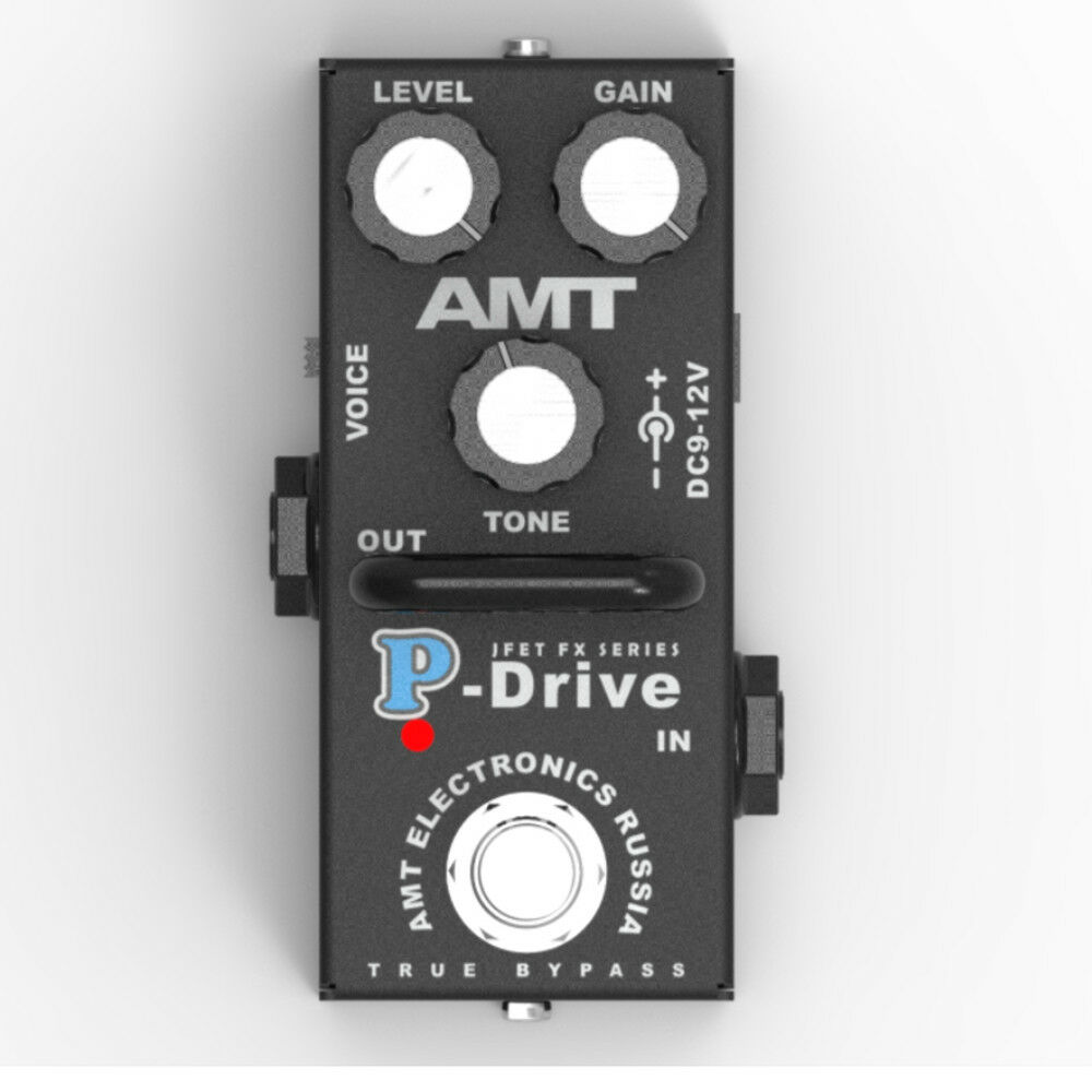 AMT Electronics P-Drive MINI (PD-2) – JFET distortion pedal - emulates Peavey