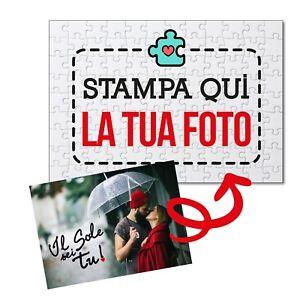 ***NEW 2021*** Foto Puzzle Personalizzato - Idea regalo San Valentino - medio