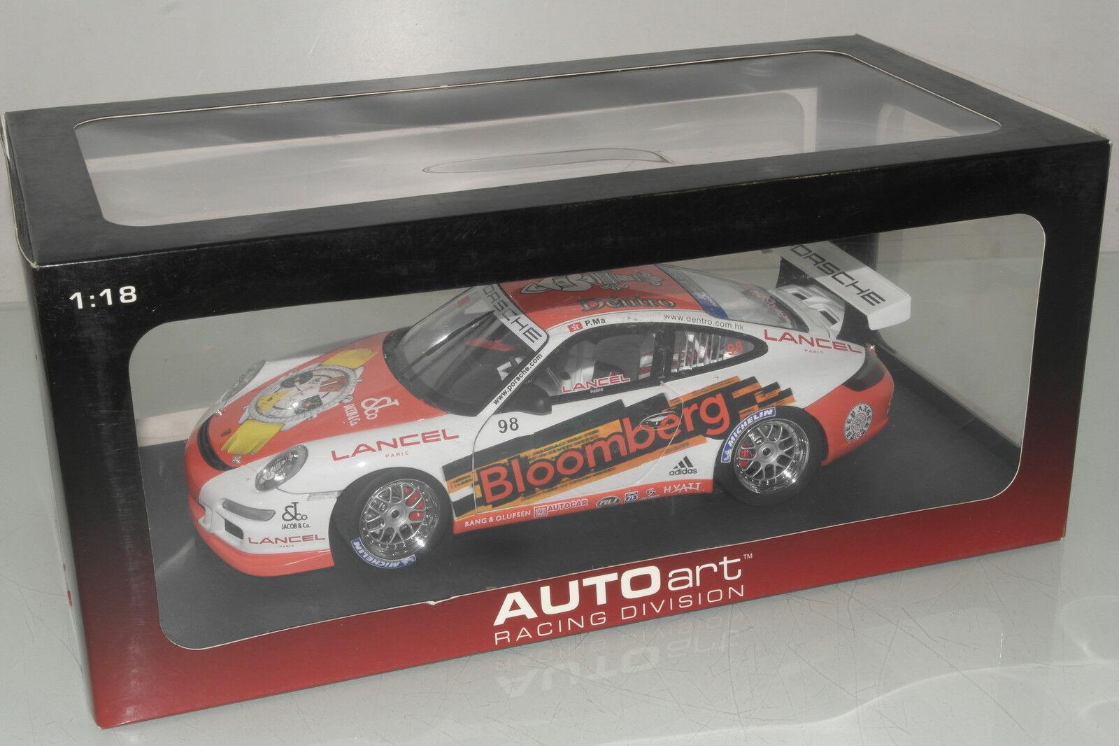 bilkonst 1 18 80689 Porsche 911 (997) GT3 Cup 2006 Philip Ma OVP (EH3129)
