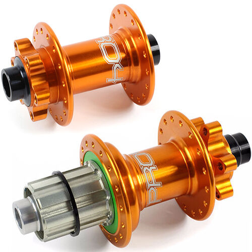 Orange Rear Hubs Combo Hope Pro 4 Front Customize Specs Brand New