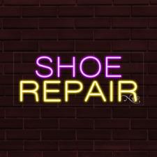 Brand New Shoe Repair 32x13x1 Inch Led Flex Indoor Sign 30122