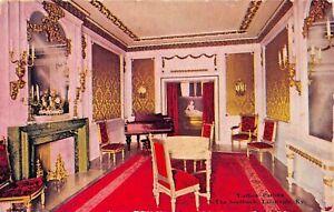 LOUISVILLE-KY-THE-SEELBACH-HOTEL-LADIES-PARLORS-1943-PSTMK-POSTCARD