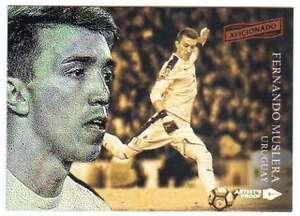2016-17 2017 Panini Aficionado Soccer Artist's Proof #52 Fernando Muslera