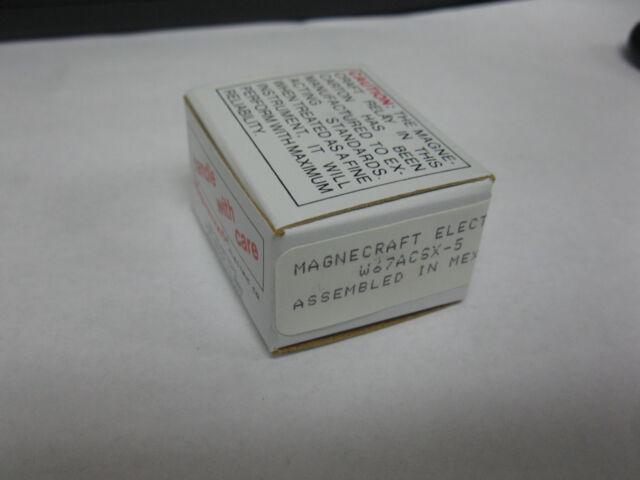 Magnecraft W67-ACSX-5 Relay 5A 120V