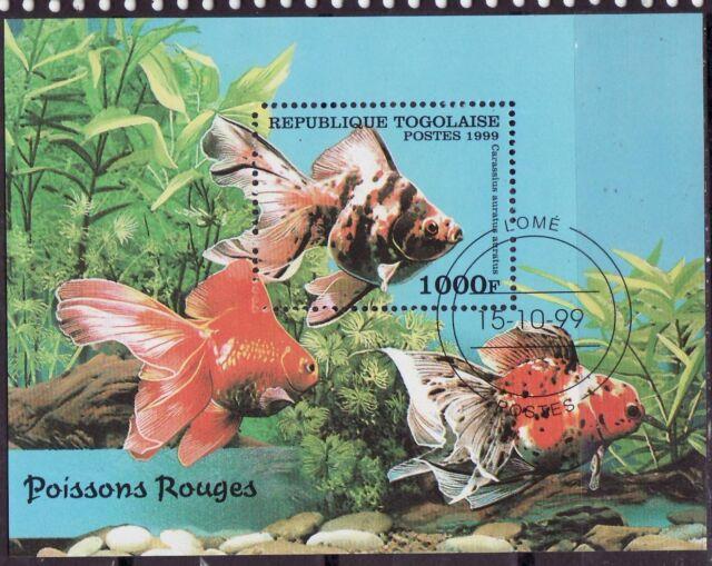 Togolaise 1999 - Vissen/Fish/Fische