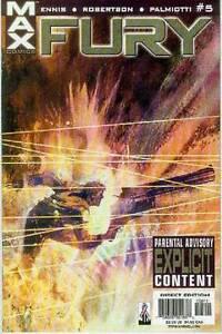Fury Vol. 3 # 5 (of 6) (garth Ennis) (états-unis, 2002)-afficher Le Titre D'origine PréVenir Et GuéRir Les Maladies