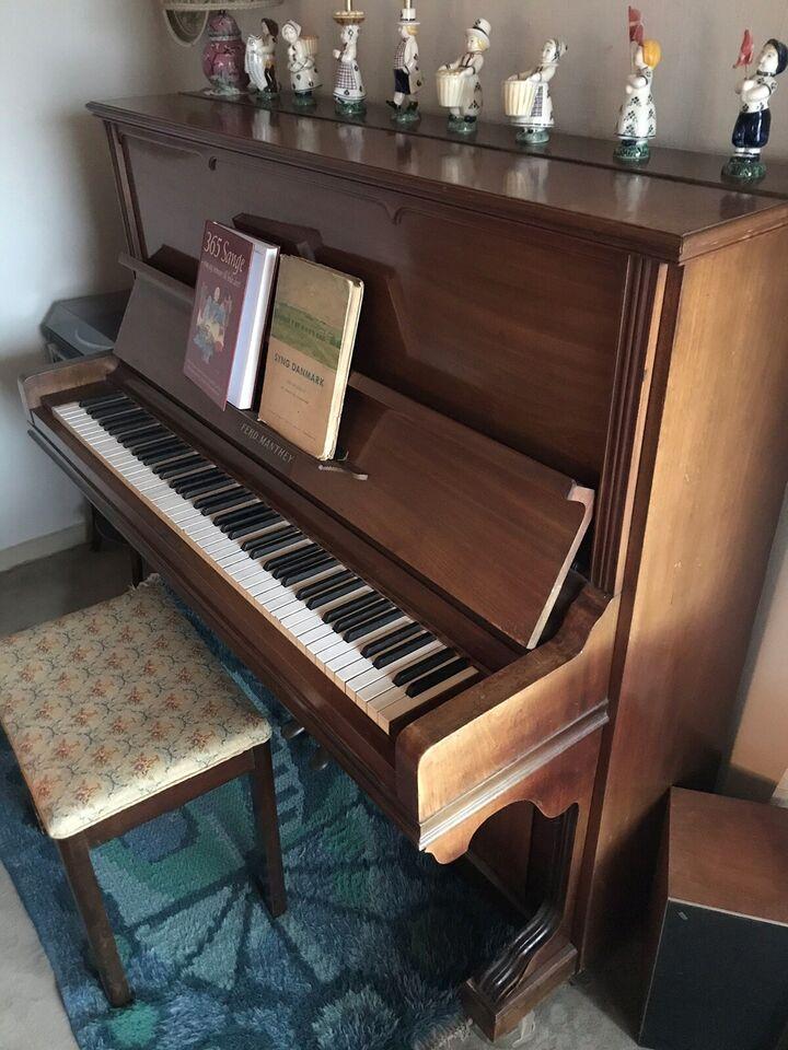 Klaver, andet mærke, Klaver opretstående