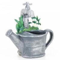 Fontaine À Eau D'intérieur Arrosoir Robinet + Pompe Décoration Déco