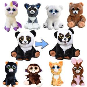 Feisty Plüsch Tiere Pets Expression Stuffed Scary Face Toy Animal Weinachten DE