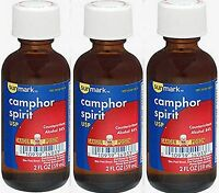 Camphor Spirit Sunmark 2 Oz ( 3 Pack )