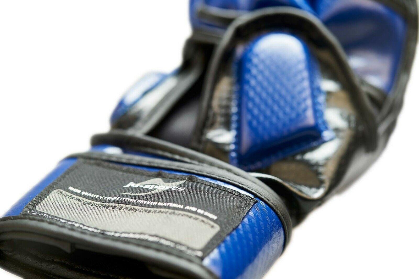 Ju-Sports MMA - Allkampf Allkampf Allkampf Sparring Handschuh Carbon blau - Freefight Gloves f2a8d7