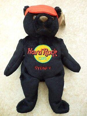 2019 Ultimo Disegno Hard Rock Cafe Sydney Australia Charlie Orso Da Collezione 2001-mostra Il Titolo Originale