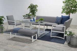 Details Zu Allweather Lounge Set Aureum Sitz Gruppe Gartenmobel Garnitur Alu Wetterfest