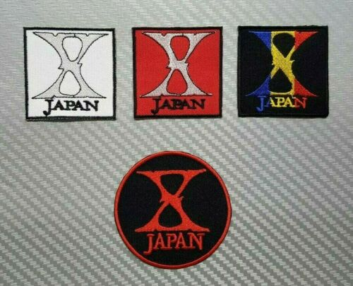 X JAPAN ROCK MUSIC HEAVY WOVEN BAND METAL PUNK Embroidered Patch Iron Sew Logo