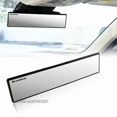 Broadway Universal 300mm Wide Flat Interior Clip On Car Truck Rear View Mirror