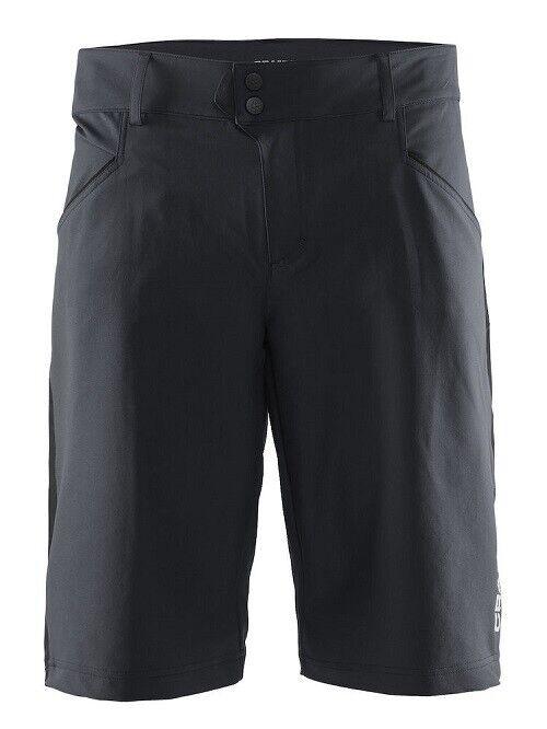 Craft velo XT BIKE Shorts Pantaloni Bicicletta trasparenti per uomo in nero Taglia XL