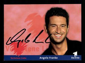 Angelo Franke Verbotene Liebe Autogrammkarte Original Signiert # BC 71888 - Niederlauer, Deutschland - Angelo Franke Verbotene Liebe Autogrammkarte Original Signiert # BC 71888 - Niederlauer, Deutschland