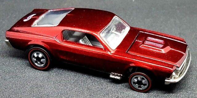 Vintage Hot Wheels Redline Custom Mustang