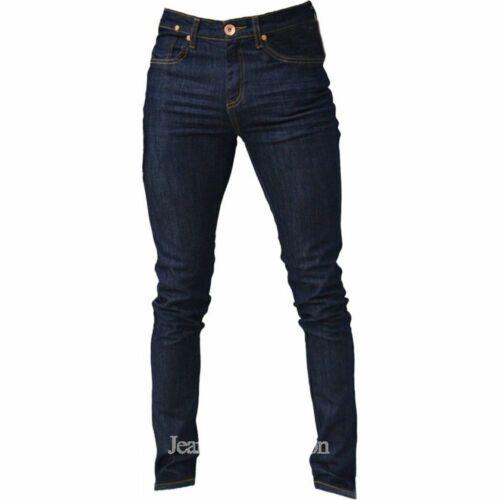 Zico Créateur Super Skinny Stretch Jeans Raw Denim toutes tailles disponibles