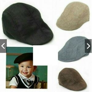 Image is loading Baby-Retro-Baker-Boy-Country-Golf-Hat-Flat- 99a52914c11