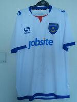Bnwt Portsmouth Away SS Football Shirt 2013/2014